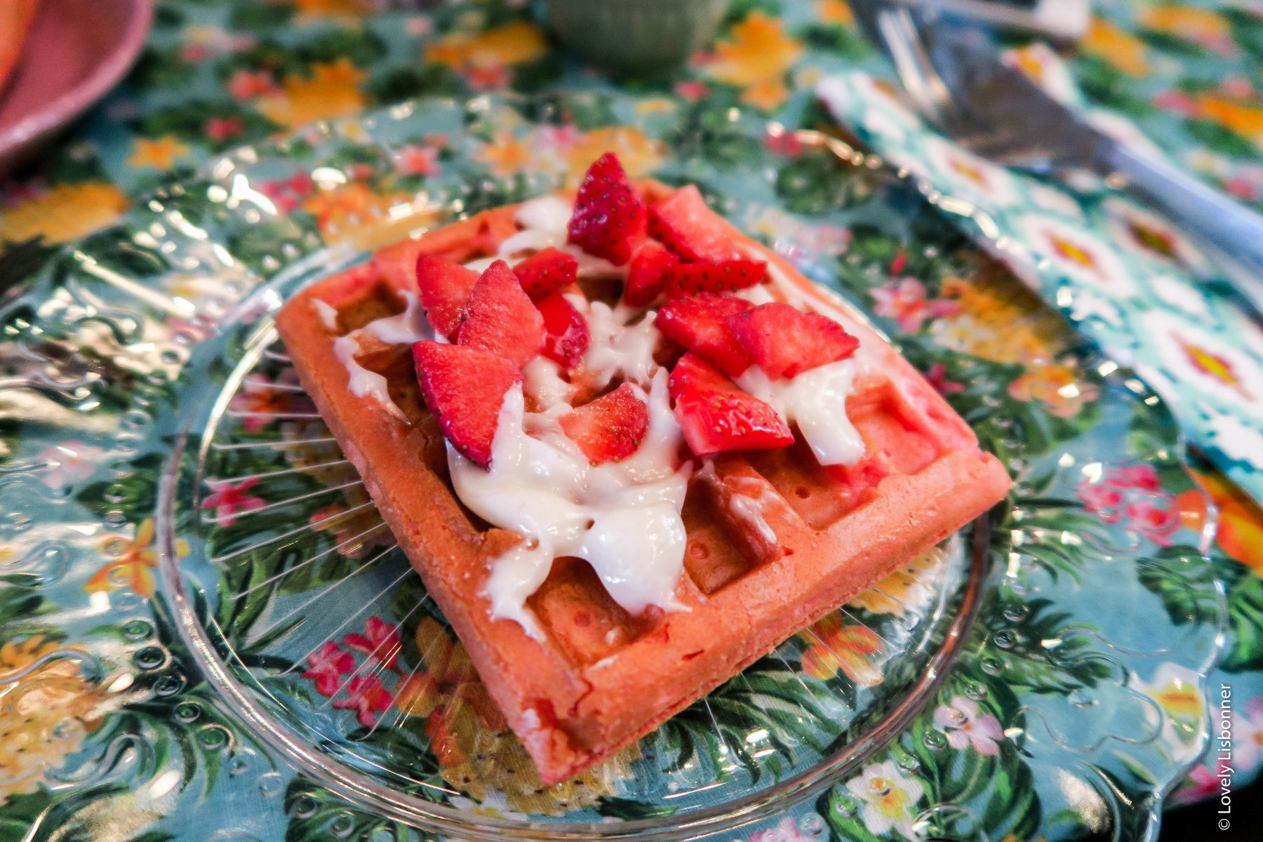 Brunch do Mundo de 25-05-2019. 3ª Temporada - América do Norte e Central - waffle de red velvet estados unidos da américa
