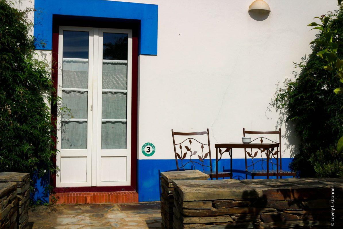 Exterior do Quarto do Mano no Turismo Rural Naturarte Campo