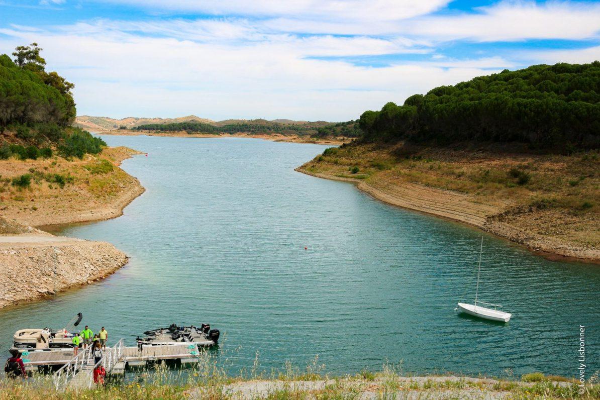 Barragem de Santa Clara - Freguesia de Santa Clara a Velha