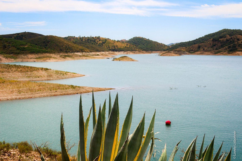 Concelho de Odemira - Alentejo Singular barragem de santa clara freguesia de santa clara a velha
