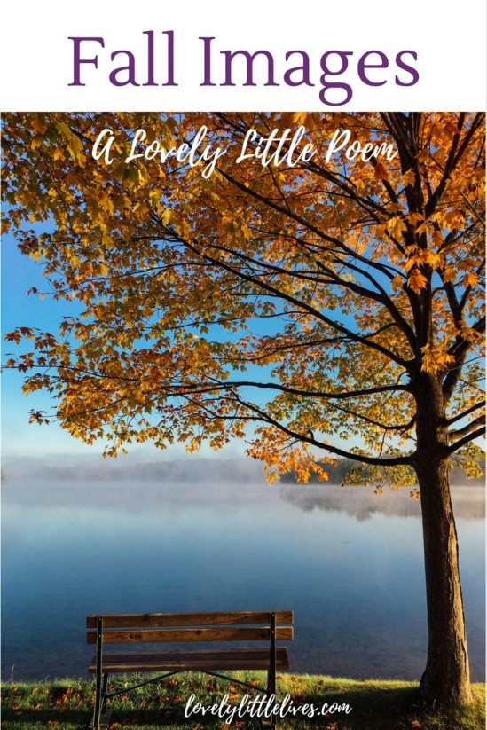 Fall images - a lovely little poem