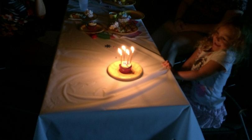 Tangled birthday