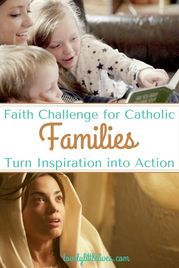 faith challenge for Catholic Families