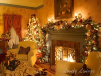 Christmas Room - Home Design