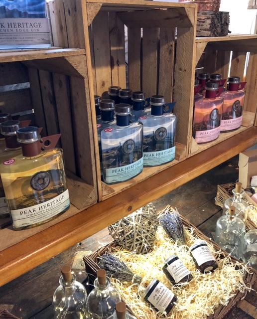 Derbyshire gin shop in Barlow