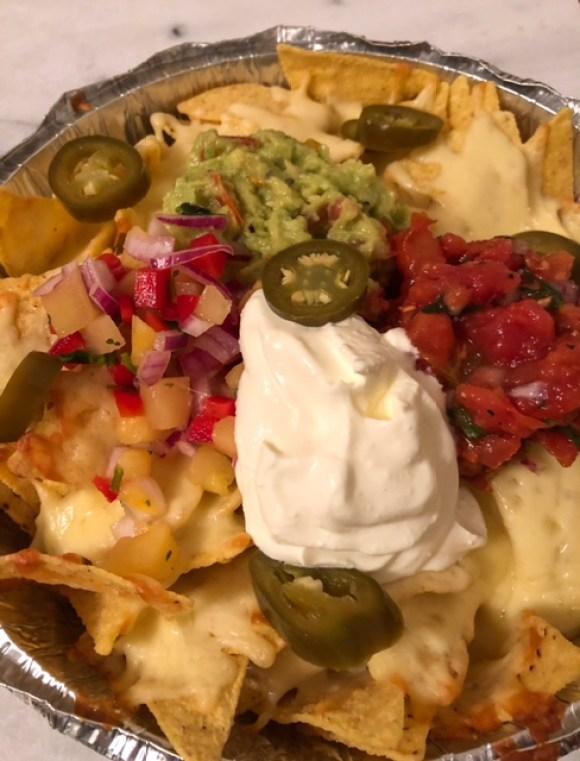 Nachos from El Nacho, Chesterfield takeaways pop-up