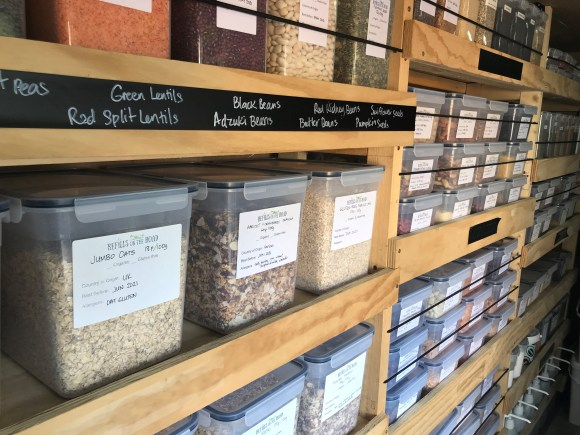 Derbyshire eco businesses - Refills on the Road