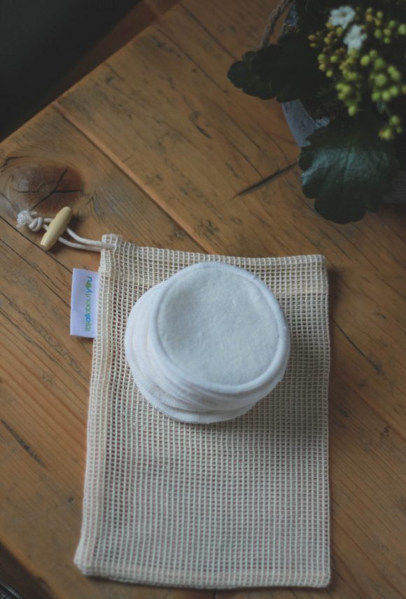 reusable, washable bamboo pads are a great eco swaps