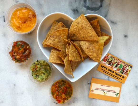 chips and dips from Let's Taco 'Bout It Derby