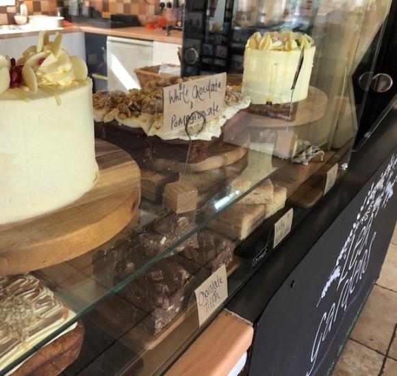 Lea Gardens tearooms cake counter