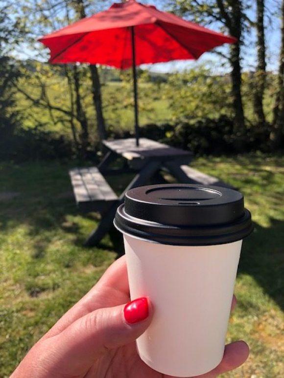 Coffee and a walk at Stretton Hall Farm Shop