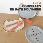 DIY – Petites coupelles «chat» en pâte polymère