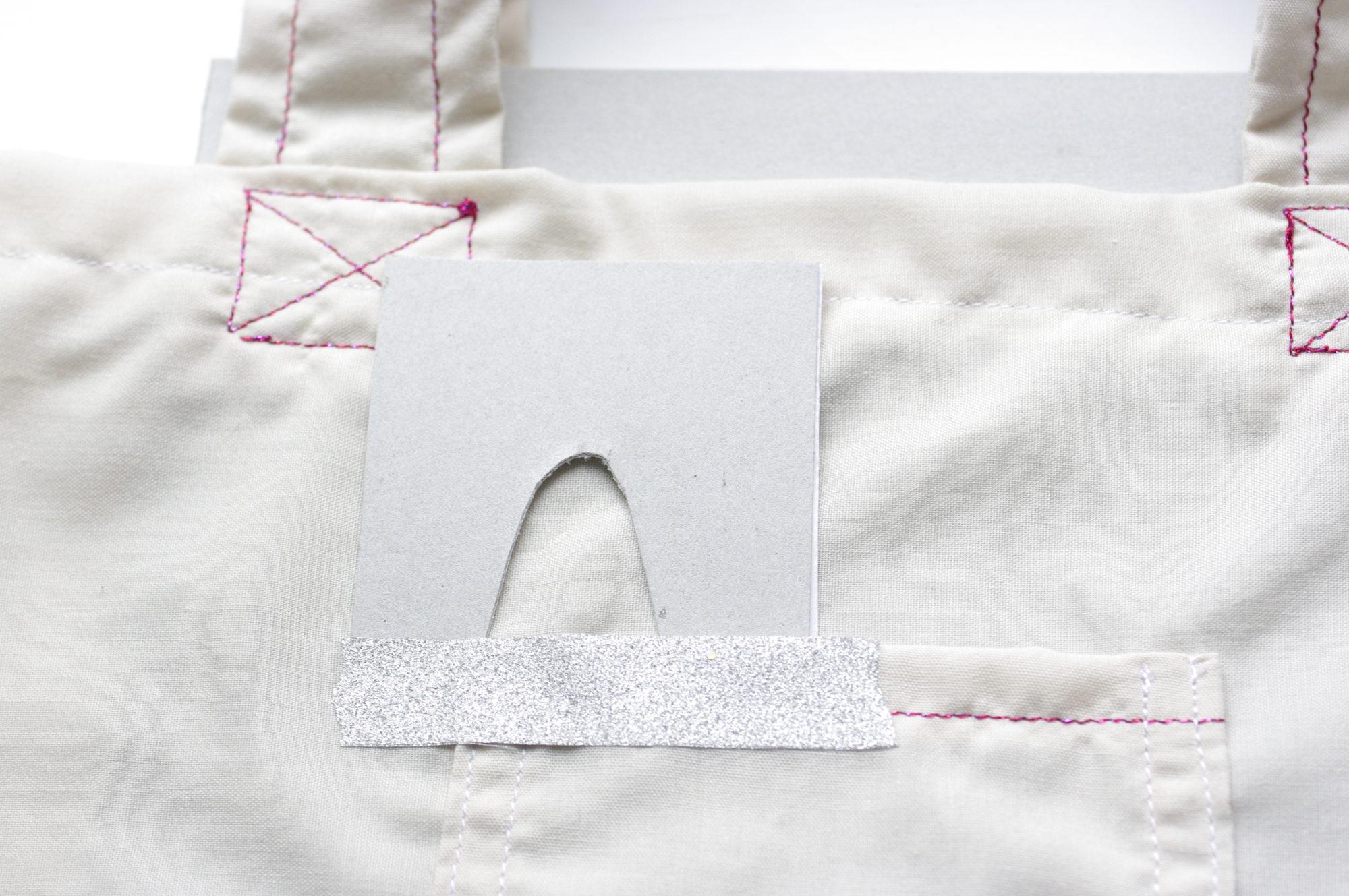 Tuto tote bag - peinture textile