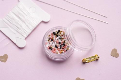 Kit tissage de perles Nuage