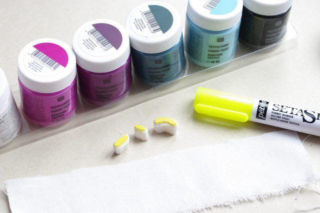 Peinture tissu Rico Design