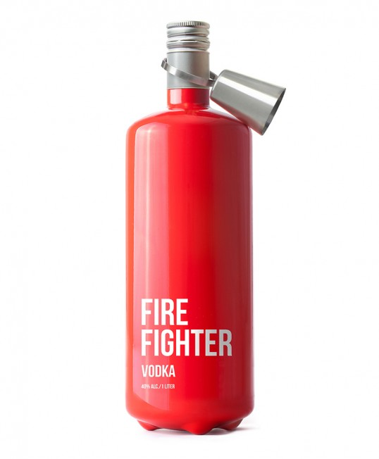 Fire Fighter Vodka by Timur Salikhov