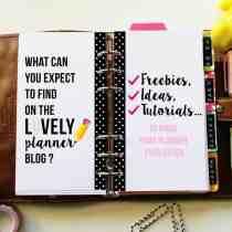 Find free planner inserts, free planner stickers and tutorials