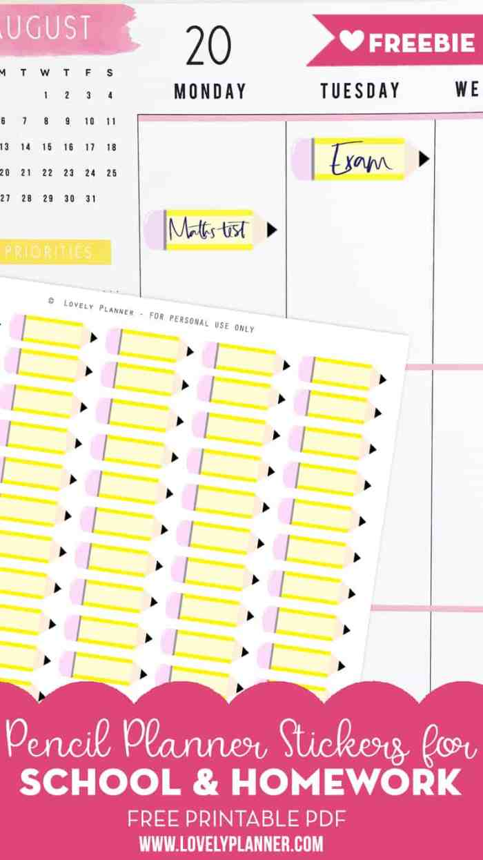 It's just a graphic of Soft Free Printable Homeschool Planner 2020-2020