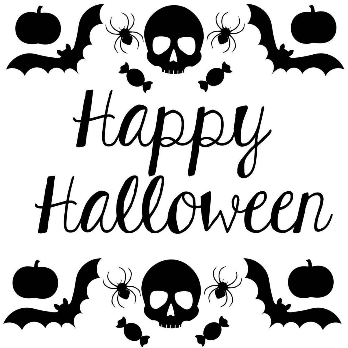 Download free halloween SVG cut files - happy halloween - Lovely ...