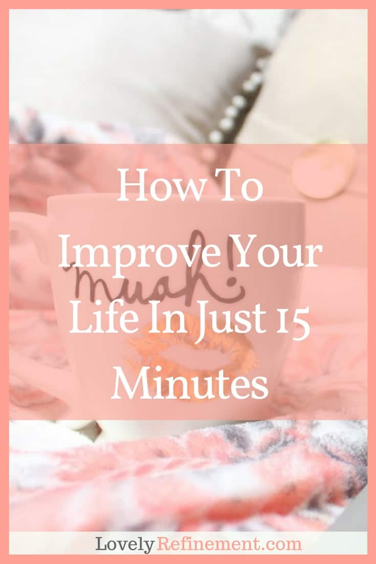 Do you have a long to-do list and feel like there's never enough time to get it all done? Here are some ways to start chipping away at that to-do list, in just 15 minutes!