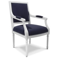 Louis XVI Neo-Classical Chair   Lovely Scrolling