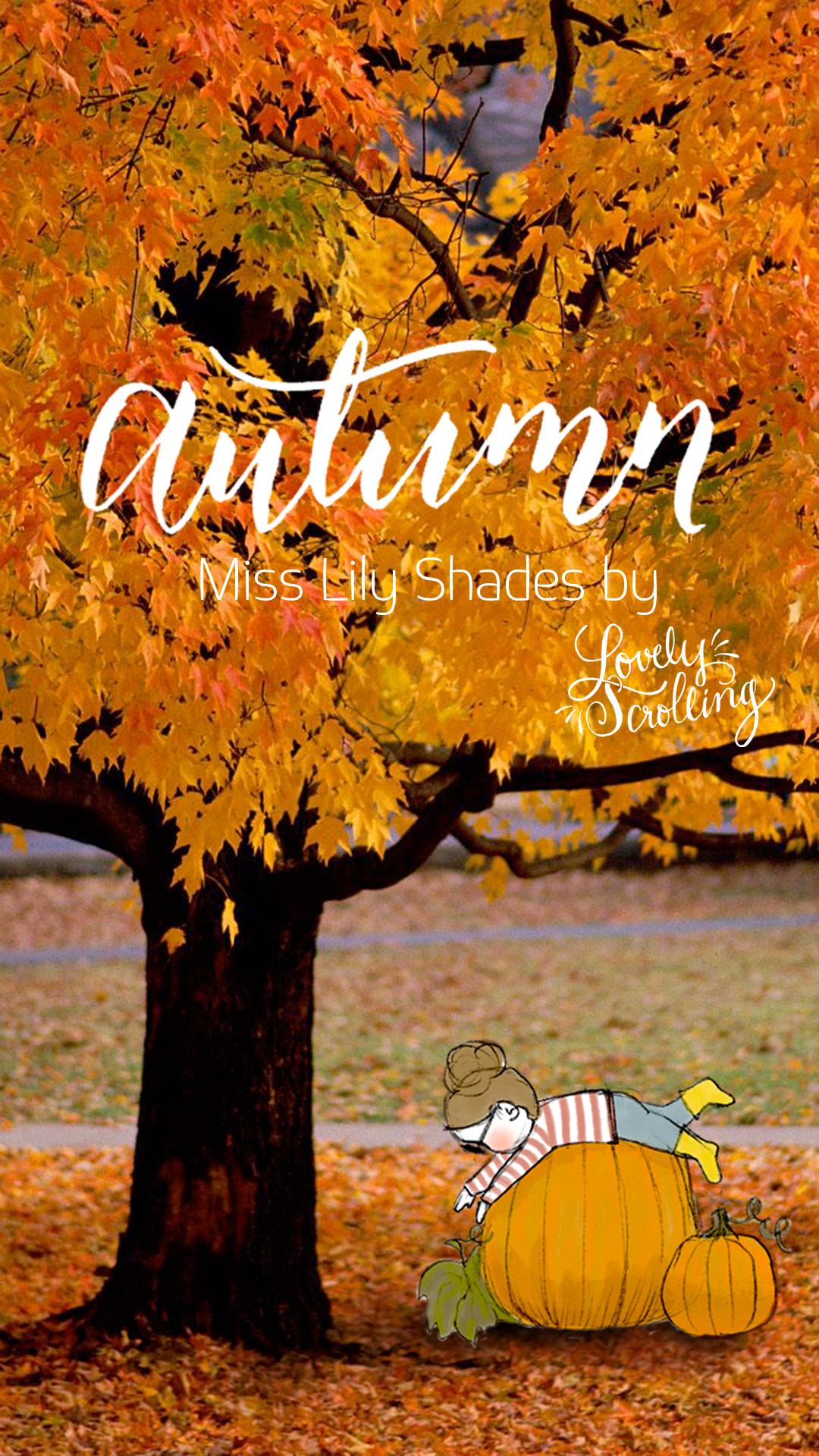 Kate Spade Desktop Wallpaper Fall Miss Lily Shades Autumn Set Lovely Scrolling