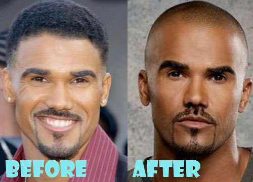 Shemar Moore Plastic Surgery Nose Job