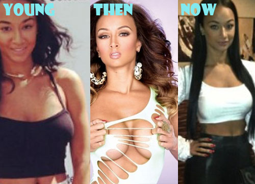 Draya Michele Plastic Surgery Boob Job