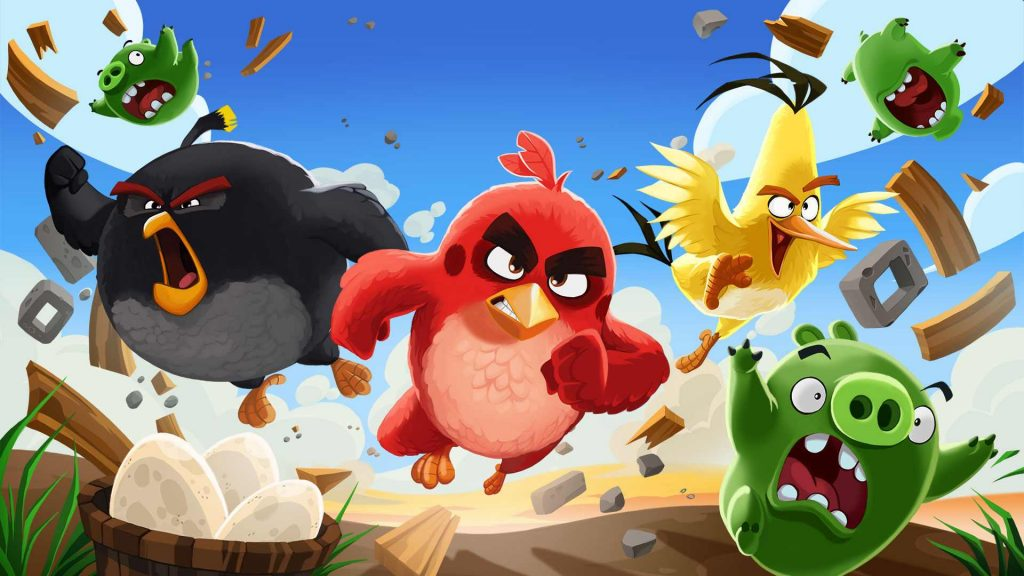 angry birds hd wallpapers
