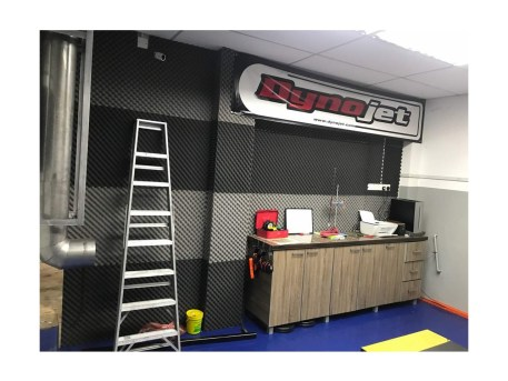 Dyno Room with Mixed Acoustic Foam Resized