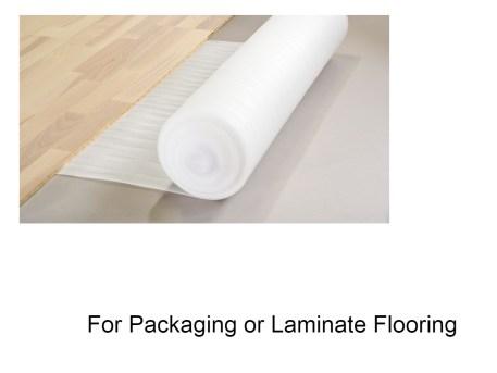 PE Foam Roll Laminate Flooring Resized
