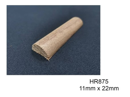 HR875 Half Circle Wood Moulding