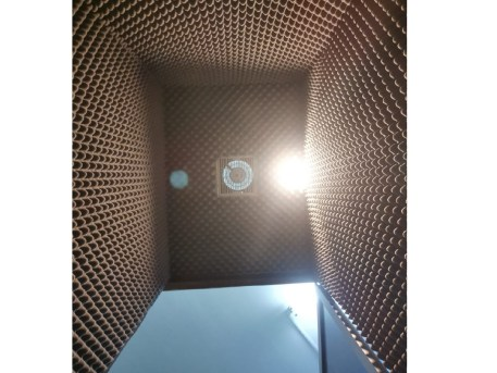 Portable Recording Booth After Completed