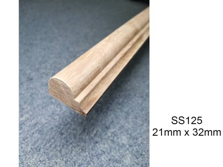 Wood Moulding For Wainscoting SS125