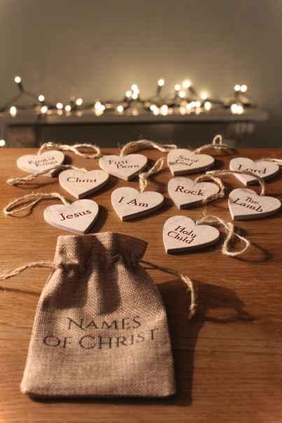 0007 Rustic DIY Wooden Christmas Ornaments Ideas