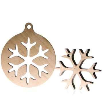 0044 Rustic DIY Wooden Christmas Ornaments Ideas