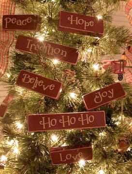 0056 Rustic DIY Wooden Christmas Ornaments Ideas
