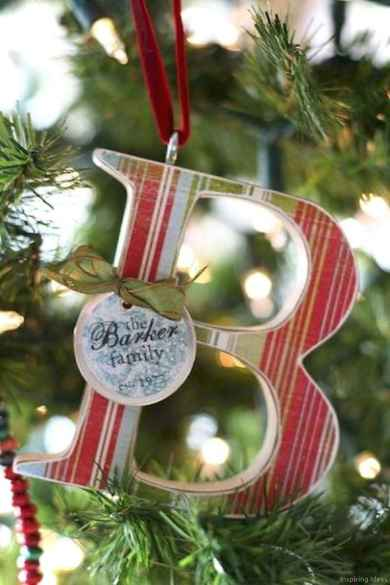 0060 Rustic DIY Wooden Christmas Ornaments Ideas