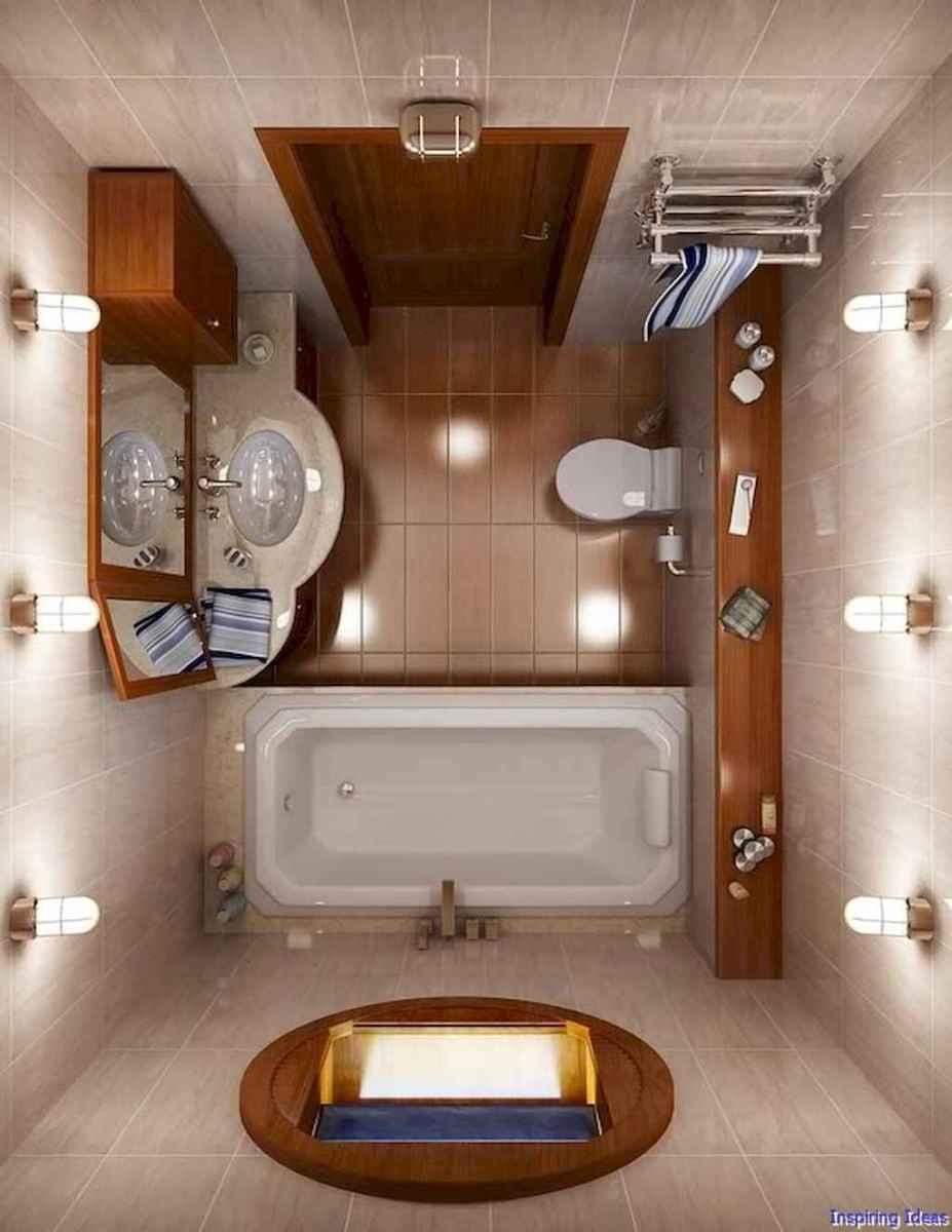 046 Clever Small Bathroom Design Ideas