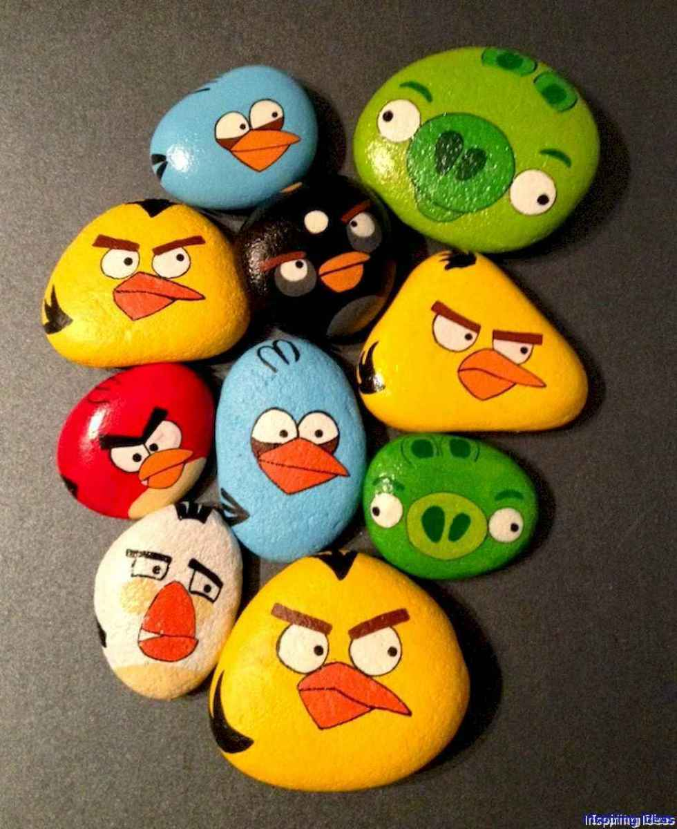 070 Adorable Rock Painting Design Ideas Lovelyving