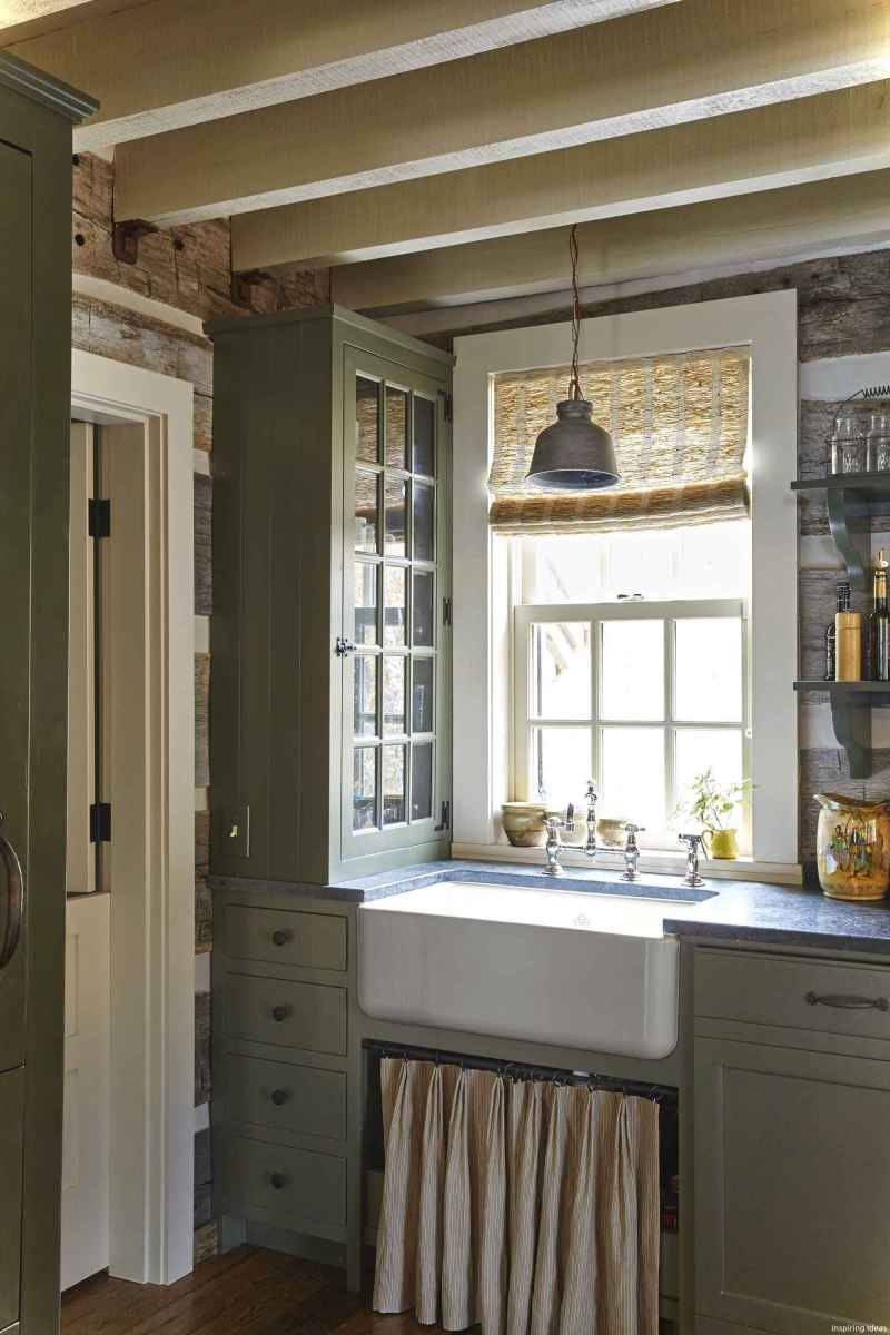 46 Small Cabin Cottage Kitchen Ideas25