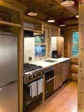 46 Small Cabin Cottage Kitchen Ideas26