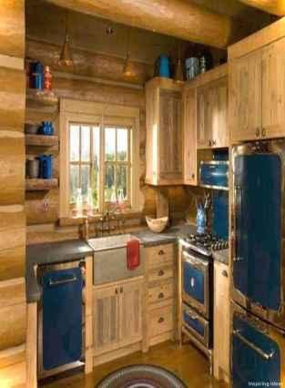 46 Small Cabin Cottage Kitchen Ideas30