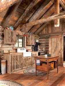 46 Small Cabin Cottage Kitchen Ideas36