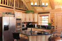 46 Small Cabin Cottage Kitchen Ideas40