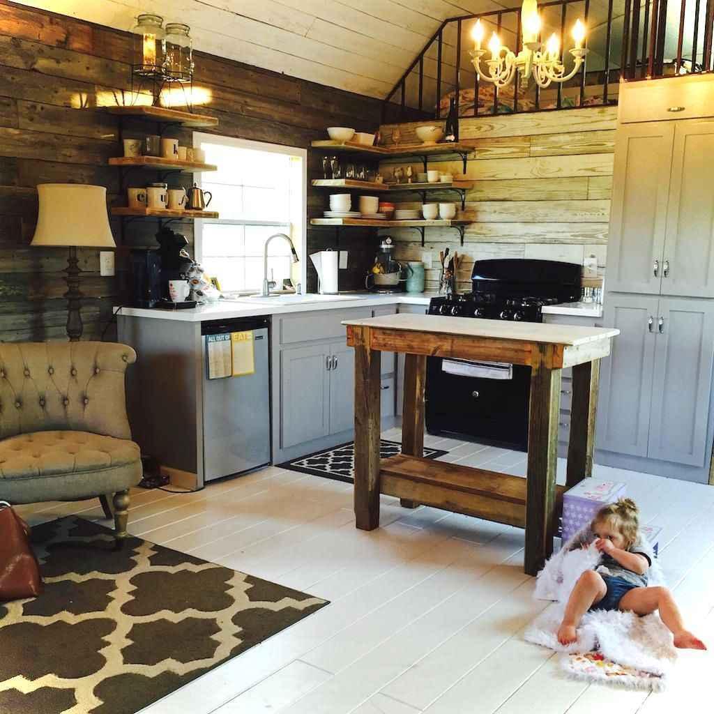 46 Small Cabin Cottage Kitchen Ideas44
