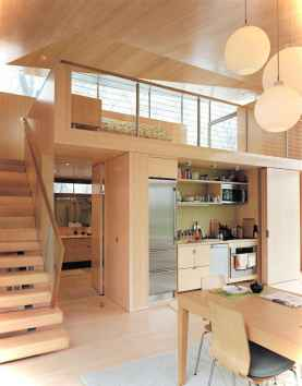 46 Small Cabin Cottage Kitchen Ideas45