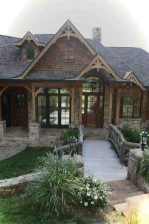 Awesome Cottage House Exterior Ideas Ranch Style 11