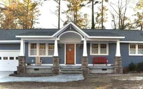 Awesome Cottage House Exterior Ideas Ranch Style 23