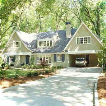 Awesome Cottage House Exterior Ideas Ranch Style 27